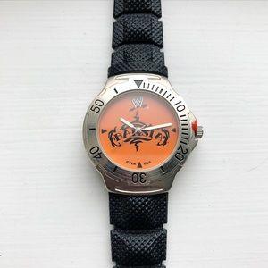Black & orange WWE Batista Men's watch